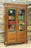 19th Century French Directoire Style Mahogany Bookcase Cabinet (10 of 11)