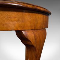 Antique Sofa Table, English, Walnut, Circular, Centre, Side, Edwardian, C.1910 (10 of 12)