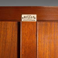 Antique Master Bedroom Wardrobe, Satinwood, Cupboard, Maple & Co, Edwardian (12 of 12)