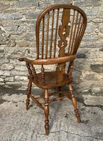 Pair of Antique Broad Arm Windsor Chairs (22 of 28)