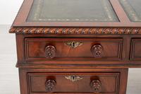 Quality Victorian Mahogany Partners Desk (3 of 9)