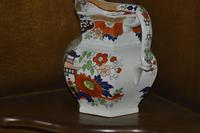 19th Century Real Stone China Jug with Chinoiserie Decoration (6 of 11)