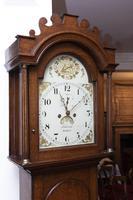 Stalham Made Oak Long Case Clock (2 of 4)