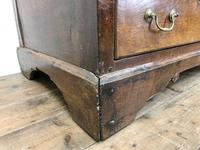 18th Century Welsh Oak Two Part Chest (10 of 13)