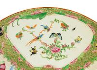 Late 19th Century Cantonese Porcelain Charger with Four Reserved Panels (4 of 5)