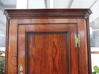 Country Oak Formal Hanging Corner Cupboard 1760 (4 of 10)