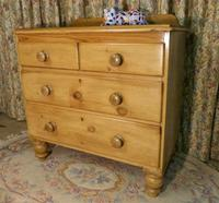 Petite Pine Chest of Drawers from the 1920s (2 of 8)