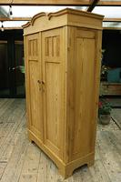 Fantastic! Old Pine 'Knock Down' Cupboard/ Wardrobe With Shelves - We Deliver! (13 of 14)