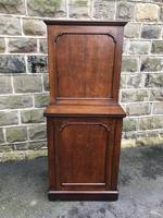 Antique Oak Dining Table Leaf Cabinet (4 of 9)