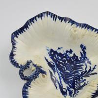 Rare Liverpool Porcelain John Pennington Leaf Tray Pickle Dish (5 of 9)