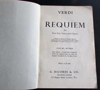 1958 Verdi Requiem  Signed by Victoria  Elliott, Roger Stalman,  Willliam  McAlpine (3 of 4)
