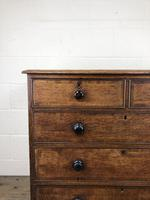 19th Century Antique Oak Chest of Drawers (4 of 13)