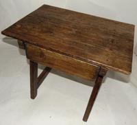 Spanish Pine Low Side Table (5 of 6)