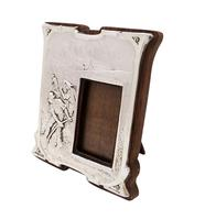 Antique Art Nouveau Sterling Silver Photo Frame 1904 - Peace Hath Her Victories (8 of 8)