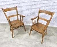 2 x Windsor Barback Armchairs (5 of 5)