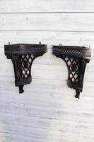 Aesthetic Movement, pierce-work corner shelves with galleries (a pair) c.1880 (17 of 35)