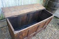 18th Century Country Oak Coffer (9 of 9)