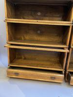 Pair of Globe Wernicke Oak Bookcases (14 of 16)