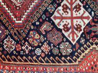 Antique Qashqai Rug 1.47m x 1.04m (9 of 17)