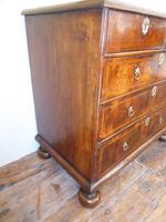 Early 18th English Walnut Chest of Drawers (2 of 8)