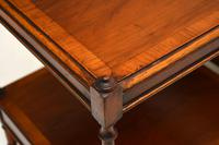Pair of Antique Georgian Style Yew Wood Side Tables (13 of 14)