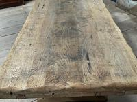 Superb Very Rustic French Oak Bleached Oak Farmhouse Dining Table (13 of 32)