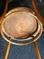 Antique Bentwood Chair J J Kohn Austria Stamped Original Rare Surviving Design (8 of 8)