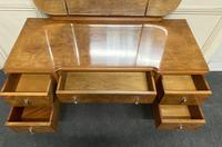 Antique Queen Anne Burr Walnut Dressing Table (8 of 16)