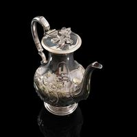 Antique Decorative Tea Urn, English, Silver Plate, Teapot, Edwardian c 1910 (6 of 12)