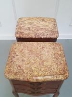 Beautiful Kingwood Bedside Cabinets with Marble Tops (6 of 7)