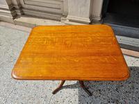 Golden Oak Georgian Tilt Table (2 of 5)