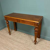Stunning Victorian Oak Antique Console Table (5 of 7)