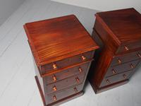 Antique Pair of Victorian Mahogany Bedside Cabinets (4 of 8)