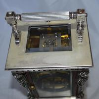 French Caryatids Repeating Carriage Clock (5 of 7)