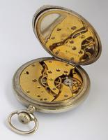 1910s Swiss Pocket Watch, H Perrin, Nevers (4 of 5)