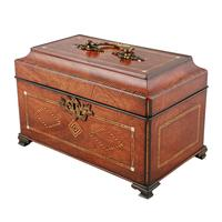 18th Century Chippendale Tea Caddy (2 of 8)