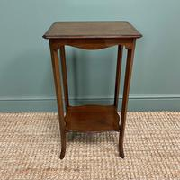 Superb Quality Mahogany Wine Table / Lamp Table by John Taylor (3 of 6)