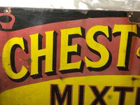 Large Rare Medicine Chemist Stotherts Atherton Chest & Lung Mixture Enamel Sign (3 of 21)