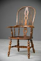 Country Style Oak Windsor Chair (2 of 11)