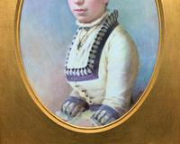 Fine Quality 19th Century Antique English Porcelain Plaque Portrait Painting c.1870 (8 of 11)