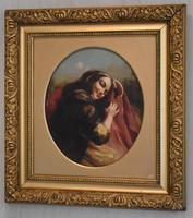Oil Painting of Kate Kearney - Irish Beauty (2 of 9)