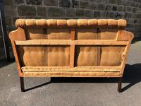Antique English Upholstered Sofa for Recovering (4 of 7)