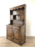 Quality Late 20th Century Oak Cottage Welsh Dresser (13 of 15)