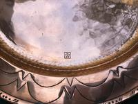 Hugh Wallis Arts & Crafts Copper Circular Tray (2 of 3)