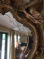 Fine English 18th Century Antique Gilt Mirror Pier Glass (3 of 10)