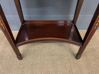 Edwardian Slender Inlaid Mahogany Display Cabinet (6 of 21)