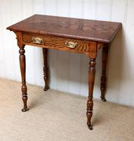 Late 19th Century Ash Side Table (3 of 10)