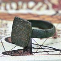 The Ancient Medieval Bronze Mountain Traveller's Ring (3 of 4)