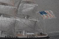American Clipper White Squall 1861 Pierhead Watercolour Painting (9 of 9)