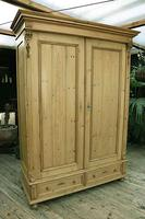Fabulous & Exceptional Quality! Big Old Pine Double 'Knock Down' Wardrobe (6 of 17)